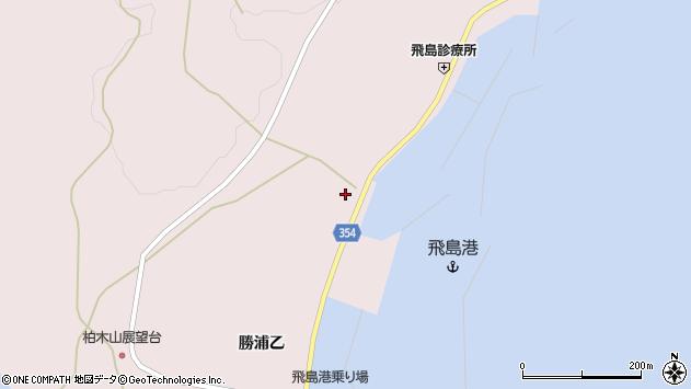 山形県酒田市飛島勝浦乙152周辺の地図