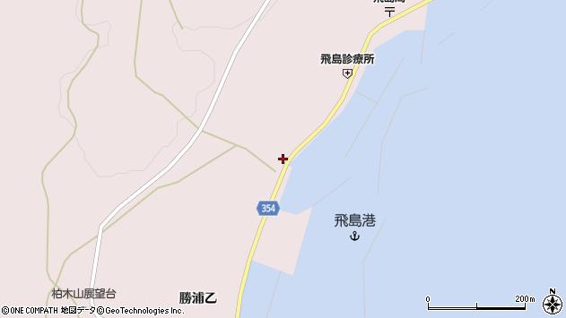 山形県酒田市飛島勝浦甲7周辺の地図