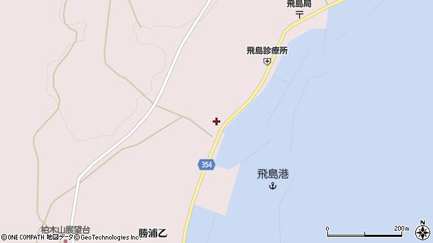 山形県酒田市飛島勝浦甲9周辺の地図