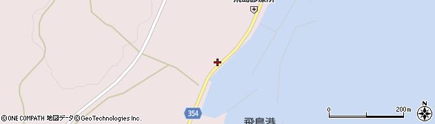 山形県酒田市飛島勝浦甲20周辺の地図