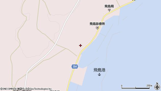山形県酒田市飛島勝浦甲17周辺の地図