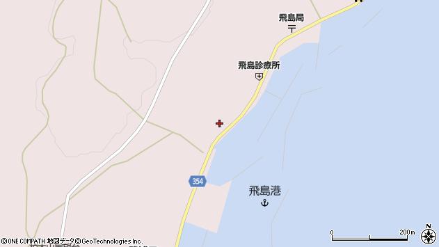 山形県酒田市飛島勝浦甲21周辺の地図