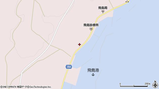 山形県酒田市飛島勝浦甲25周辺の地図