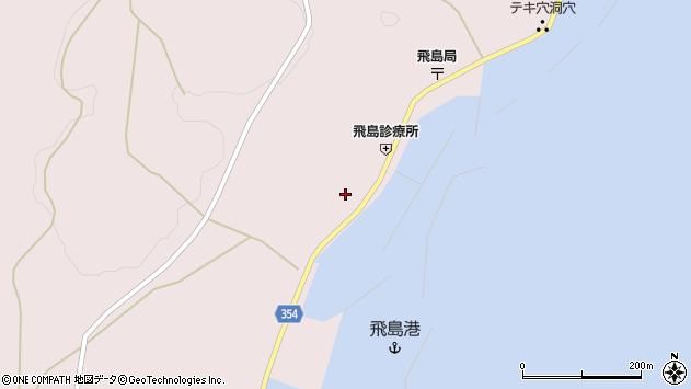 山形県酒田市飛島勝浦甲36周辺の地図