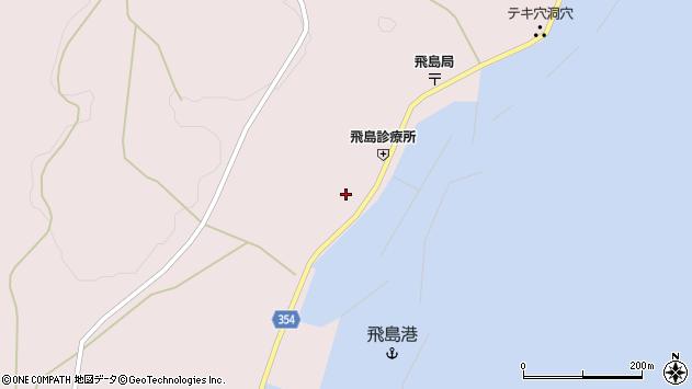 山形県酒田市飛島勝浦甲40周辺の地図