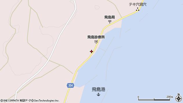 山形県酒田市飛島勝浦甲41周辺の地図
