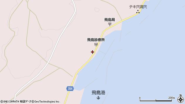 山形県酒田市飛島勝浦甲52周辺の地図