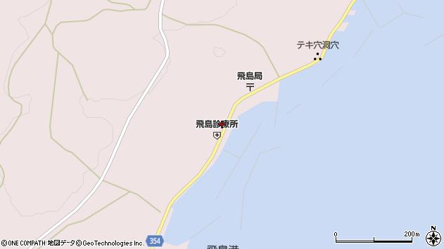 山形県酒田市飛島勝浦甲69周辺の地図