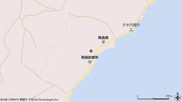 山形県酒田市飛島勝浦甲76周辺の地図