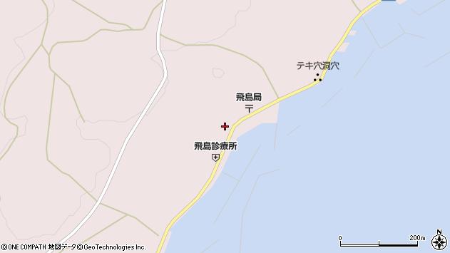 山形県酒田市飛島勝浦甲80周辺の地図