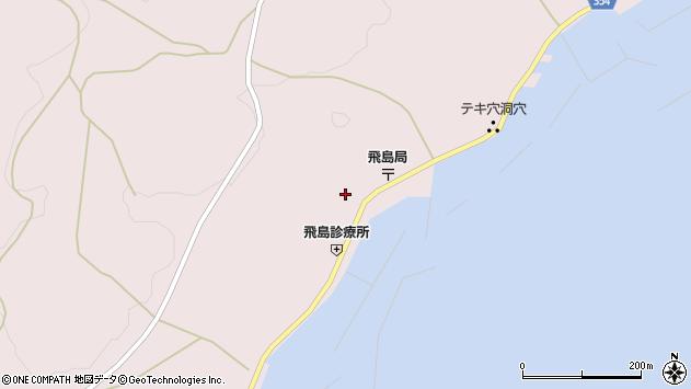 山形県酒田市飛島勝浦甲81周辺の地図