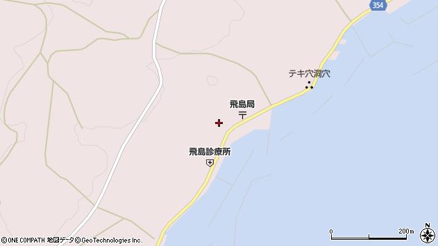 山形県酒田市飛島勝浦甲84周辺の地図