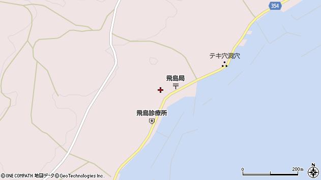 山形県酒田市飛島勝浦甲85周辺の地図