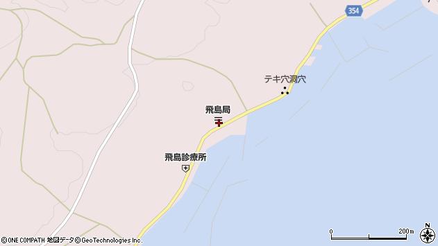 山形県酒田市飛島勝浦甲95周辺の地図