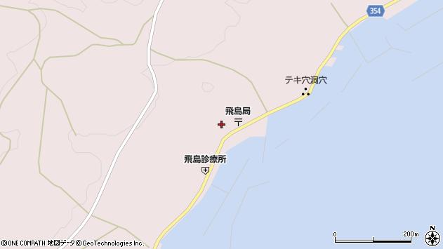 山形県酒田市飛島勝浦甲88周辺の地図