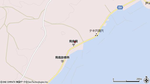 山形県酒田市飛島勝浦甲100周辺の地図