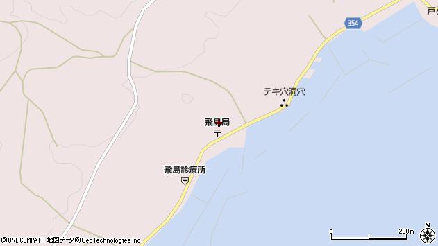 山形県酒田市飛島勝浦甲97周辺の地図