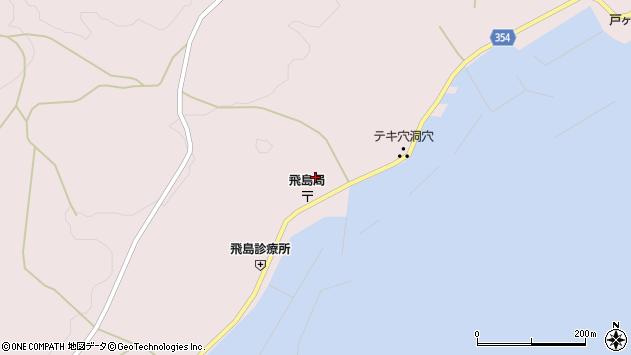 山形県酒田市飛島勝浦甲101周辺の地図