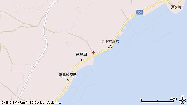 山形県酒田市飛島勝浦甲113周辺の地図