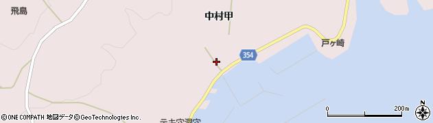 山形県酒田市飛島中村甲54周辺の地図