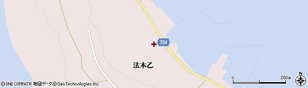 山形県酒田市飛島法木乙238周辺の地図