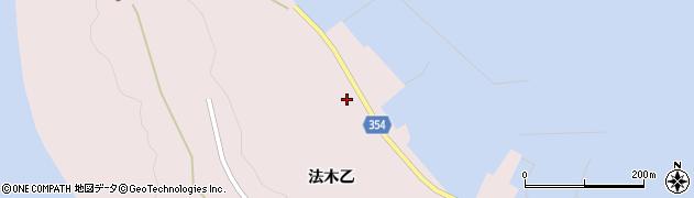 山形県酒田市飛島法木乙246周辺の地図