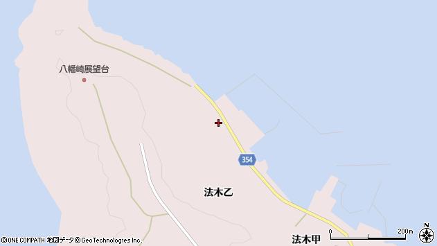 山形県酒田市飛島法木乙258周辺の地図