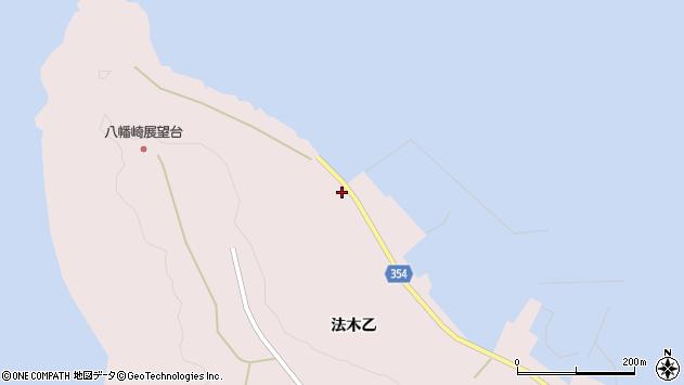 山形県酒田市飛島法木乙265周辺の地図
