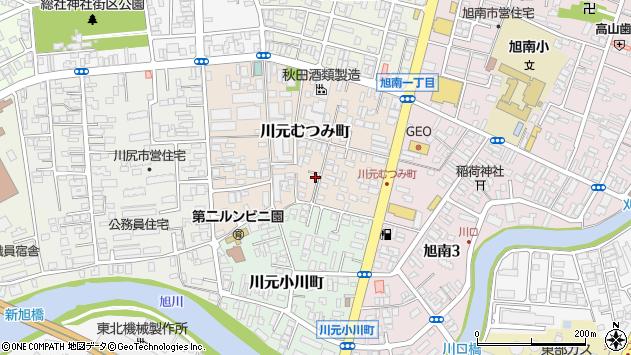 秋田県秋田市河辺和田 住所一覧から地図を検索