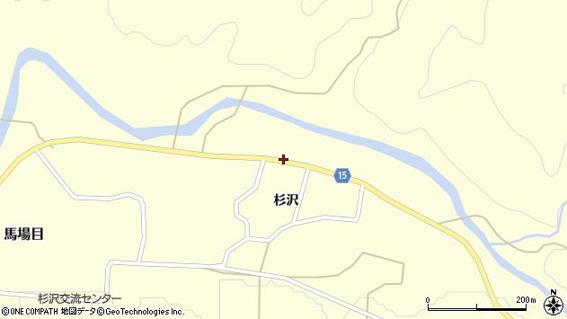 秋田県南秋田郡五城目町馬場目杉沢52 住所一覧から地図を検索