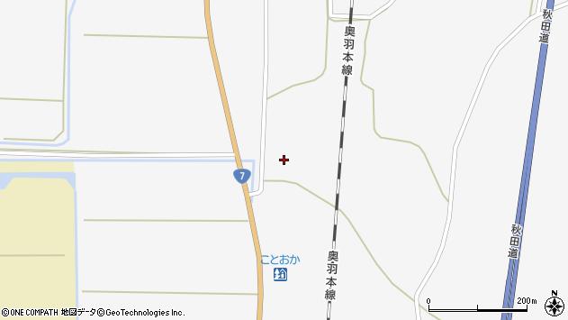 秋田県山本郡三種町鹿渡大沢出口 地図(住所一覧から検索 ...