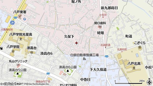 青森県八戸市白銀町木戸場 住所一覧から地図を検索