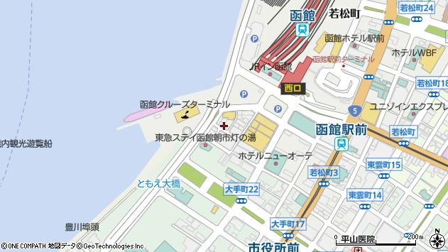 北海道函館市若松町11-4 地図(住所一覧から検索) :マピオン