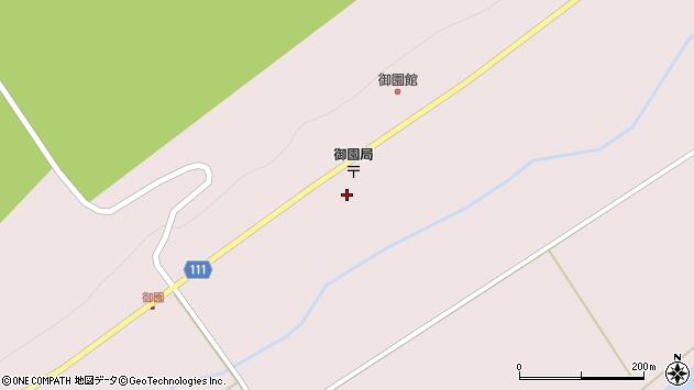北海道日高郡新ひだか町静内御園周辺の地図