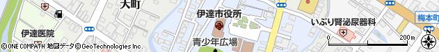 北海道伊達市周辺の地図
