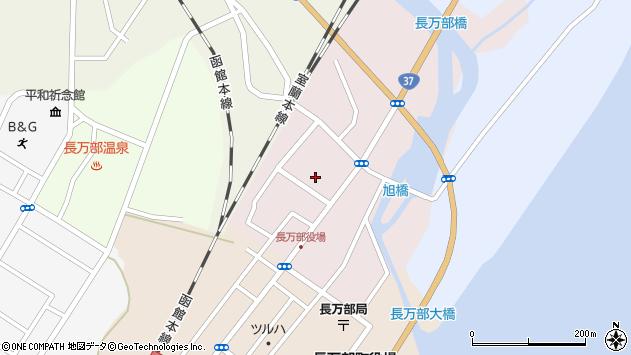 北海道山越郡長万部町長万部元町 地図(住所一覧から検索 ...