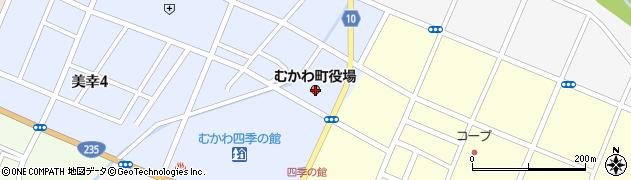 北海道勇払郡むかわ町周辺の地図