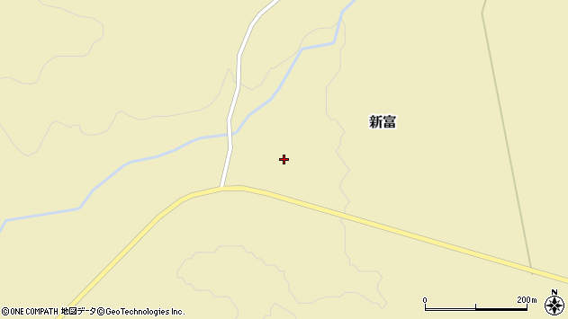 北海道虻田郡豊浦町新富 地図(住所一覧から検索) :マピオン
