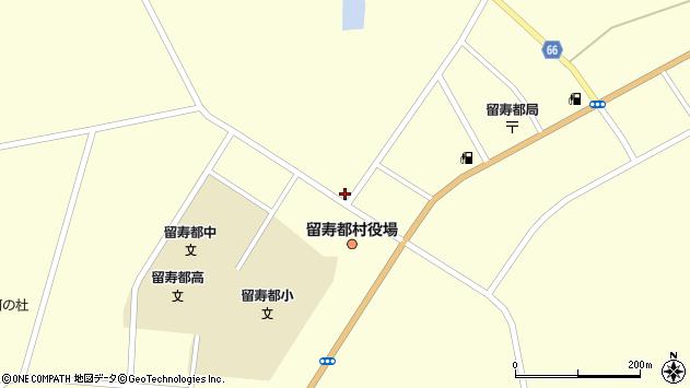 北海道虻田郡留寿都村留寿都周辺の地図