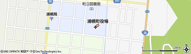 北海道十勝郡浦幌町周辺の地図