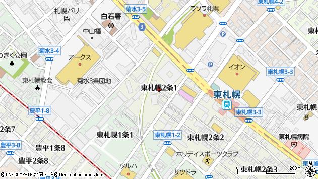 アクセスマップ   札幌市産業振興センター