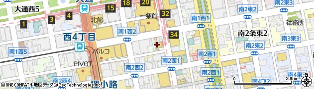 北海道札幌市中央区南1条西2丁目1周辺の地図