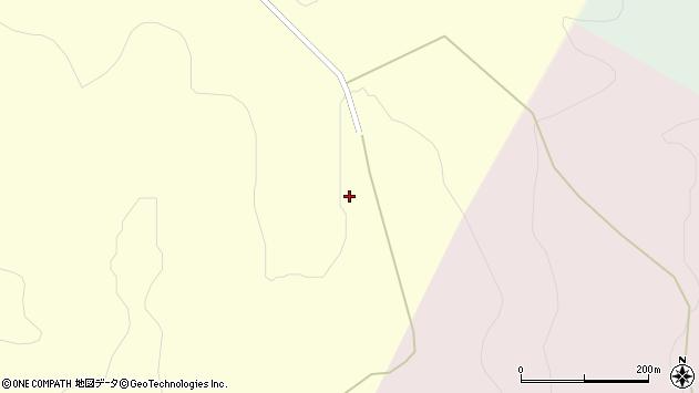 北海道空知郡中富良野町中富良野吉井農場周辺の地図