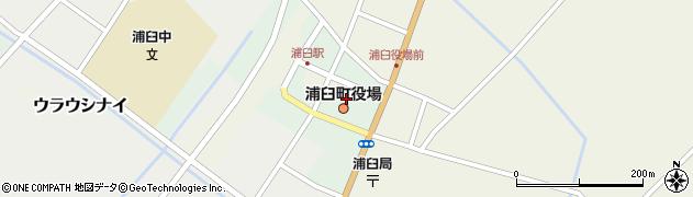 北海道樺戸郡浦臼町周辺の地図
