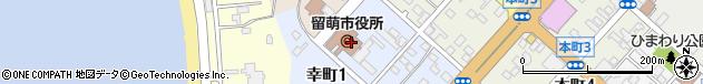 北海道留萌市周辺の地図