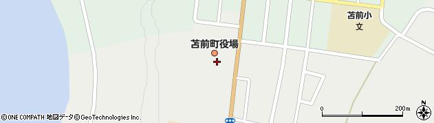 北海道苫前郡苫前町周辺の地図