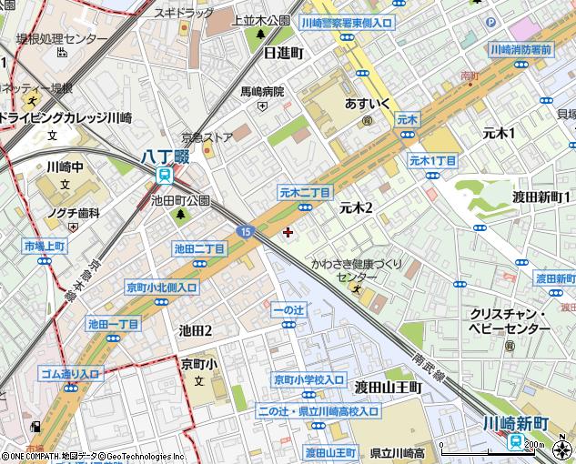 神奈川都市交通株式会社 川崎営業所