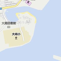 西海市立大島東小学校の地図:マ...