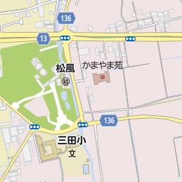 和歌山市立三田小学校の地図:マ...