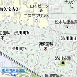 大阪府八尾市龍華町1丁目4の地図...